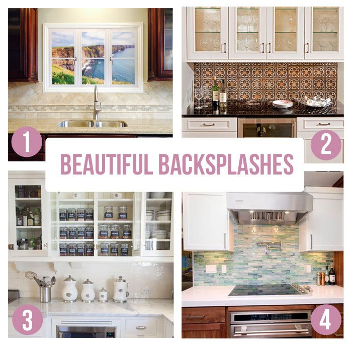 Kitchen Backsplash Ideas A Splattering Of The Most: Kitchen Cabinets Images On Pinterest