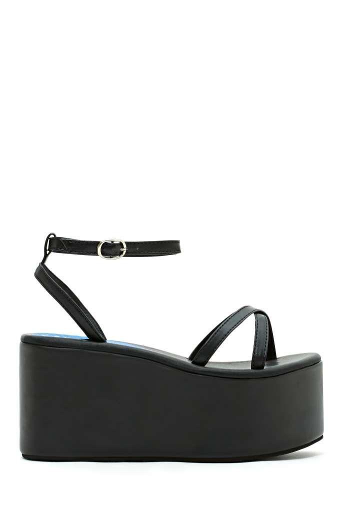 Jeffrey Campbell Vacay Flatform | Shop Shoes at Nasty Gal