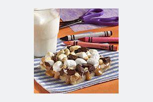 Blonde Rocky Road Brownies Recipe - Kraft Recipes