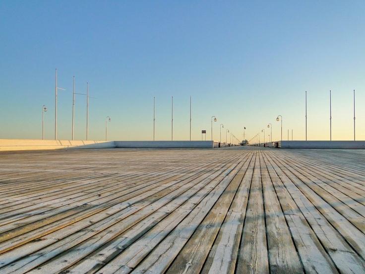 Świt na Molo w Sopocie  Dawn on the Pier in Sopot