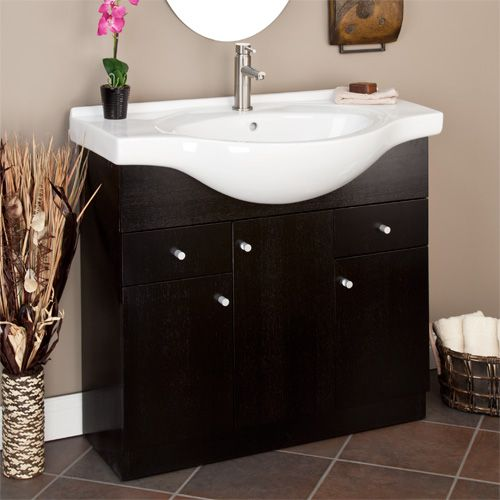 36 Quot Narrow Carrel Vanity Cabinet For The Home Small