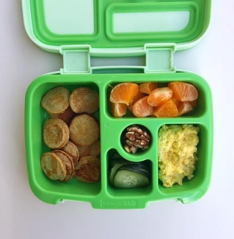 Packing a nutritious lunch for a picky toddler can be tricky - especially if you're on a time crunch every day.  Here are a couple of quick and easy recipes to add to your kiddo's lunch!