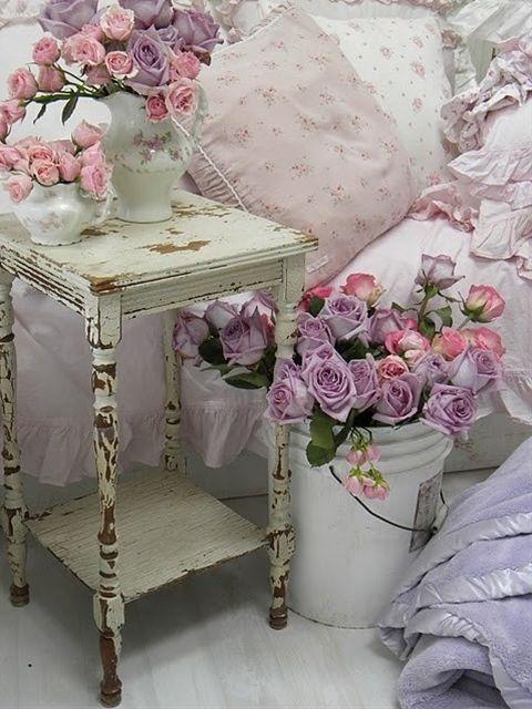 Shabby Chic- little girl's room