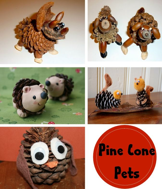 A Mom Not a Professional Nor a Perfectionist: Pine Cone Crafts