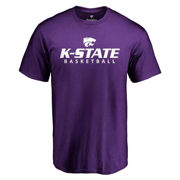 Kansas State Wildcats Kansas State Basketball T-Shirt - Purple