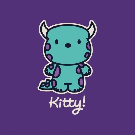 Geek Gear: Monsters Inc 'Kitty!' Shirt
