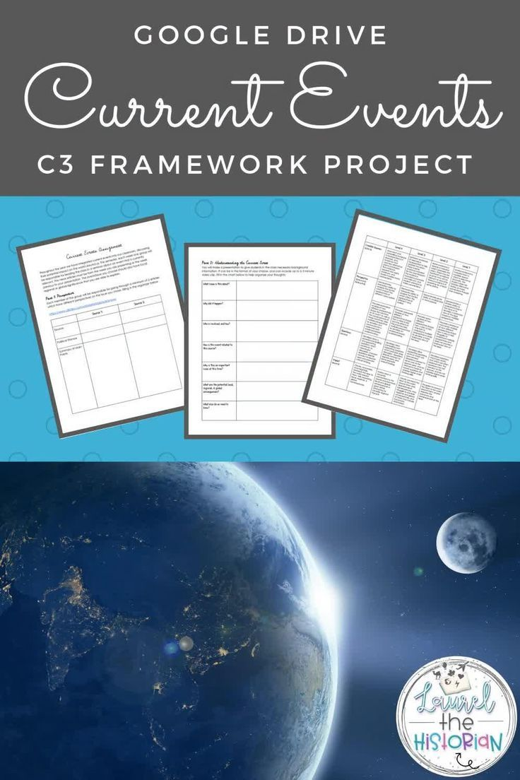Current Events Project C3 Distance Learning In 2020 Current Event Projects Current Events Worksheet Current Events Activities