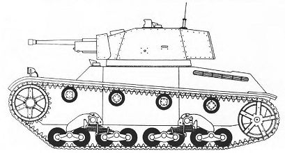 Light Tank 9TR obr.1939 of ( alleged appearance)
