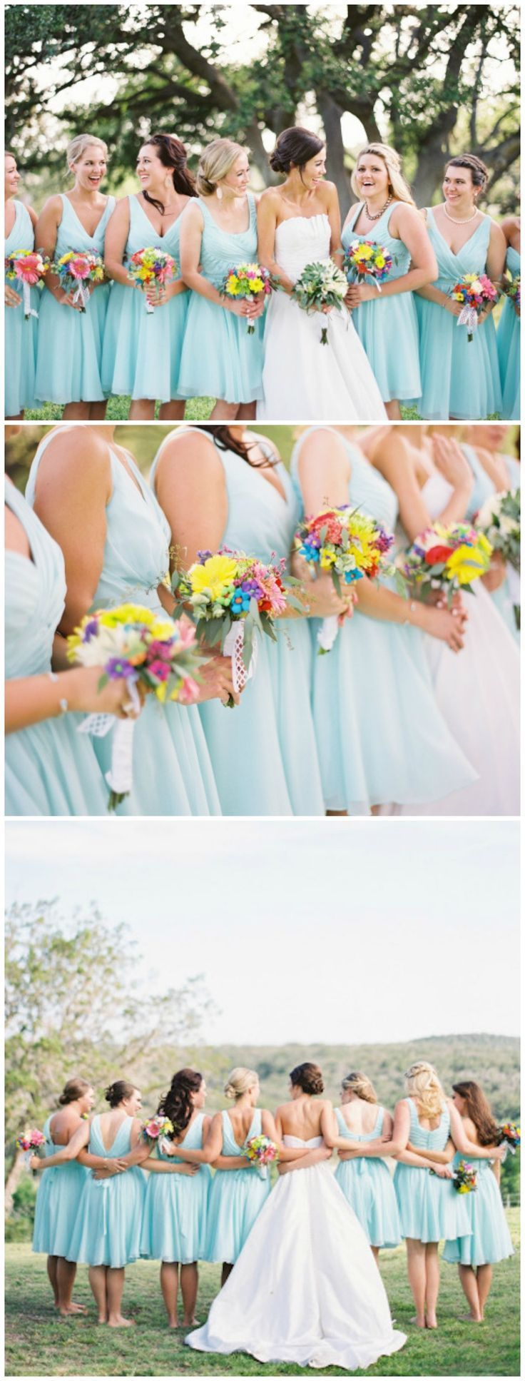 321 best kennedy blue real wedding inspiration ideas images mint bridesmaid dresses are beautiful for a summer wedding kennedy blue bridesmaids kayla ombrellifo Choice Image
