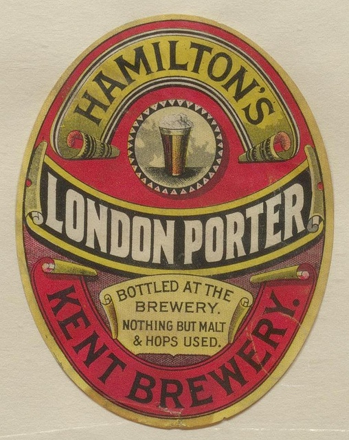 London Porter by Thomas Fisher Rare Book Library, via Flickr