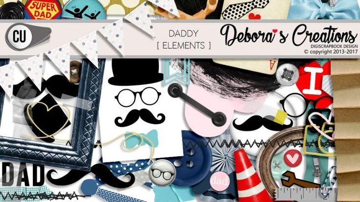 Daddy Elements by Debora'sCreations CU