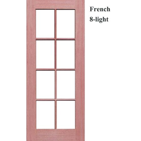 French 8-Light Solid Timber Joinery Doors