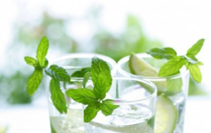 Mojito analcolico - Ecco per voi la ricetta per preparare un favoloso Mojito analcolico, un cocktail facilissimo a base di acqua tonica e lemonsoda, perfetto per l'estate e per chi è astemio!