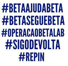 #MissãoBetaLab #BetaSegueBeta #Blablablometro #REPIN #SDV #BetaAjudaBeta #OperaçãoBetaLab #timBETA