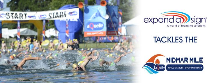 Midmar Mile - What an Experience : http://www.expandasign.co.za/midmar-mile-experience/