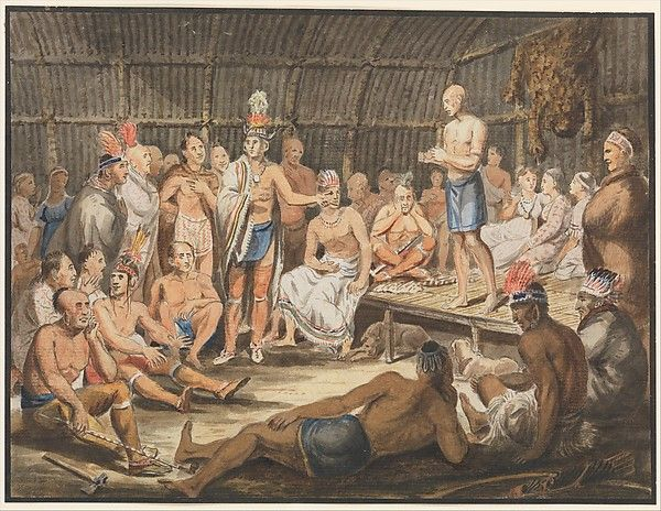 Attributed to John Lewis Krimmel. Exhibition of Indian Tribal Ceremonies at the Olympic Theater, Philadelphia. 1811-ca. 1813. Metropolitan Museum of Art, Rogers Fund, 1942.