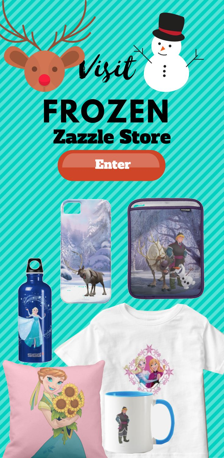 Visit Disneys Frozen Zazzle store for many different and unique Frozen design on many different Product. Find the design on product like pillow, t-shirt, keychain, iphone case, Samsung case, cups, wallets and more.
