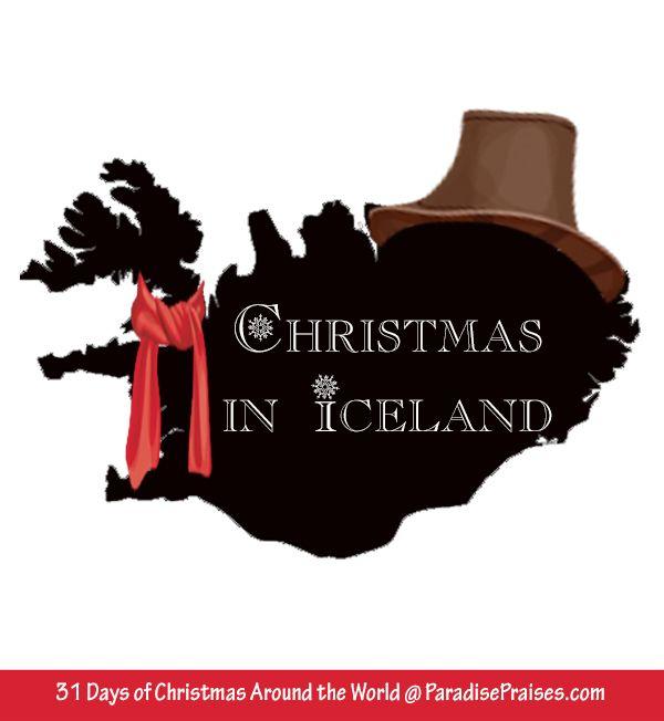 Christmas in Iceland, homeschooling, Christmas Around the World series @ paradisepraises.com