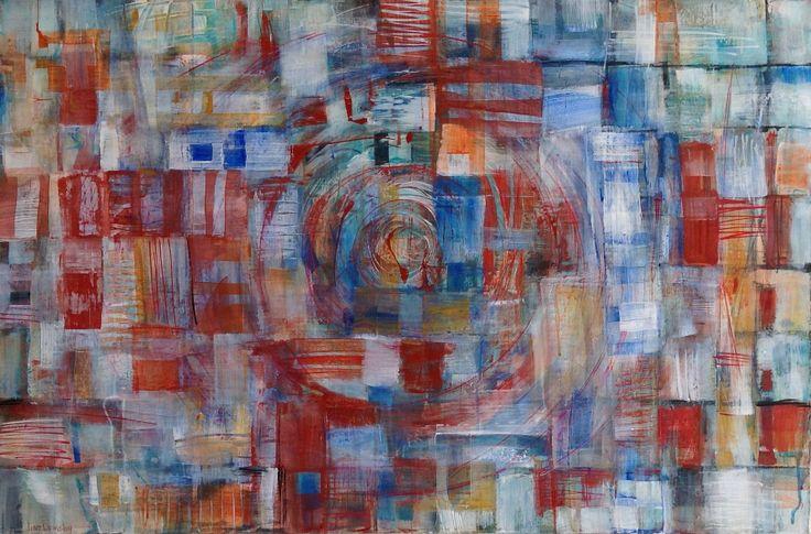 Lisa Ormsby / Mixed Media on Canvas