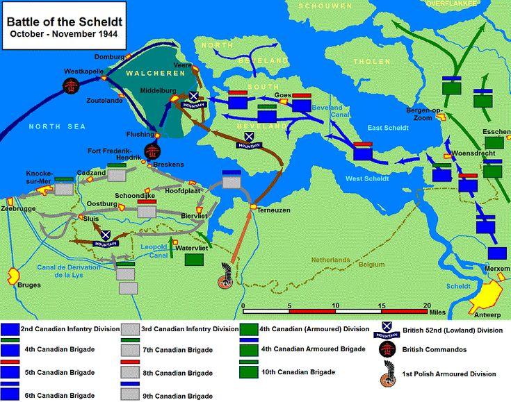 Bevrijding Z-W Nederland
