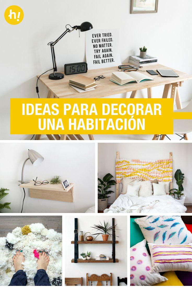 Ideas Para Decorar Una Habitacion Sin Gastar Mucho Para Decorar Unas Como Decorar Tu Habitacion Habitacion