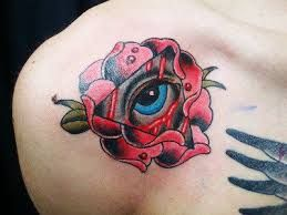 red rose tattoos - Google Search
