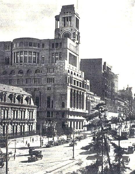 Círculo de Bellas Artes en 1930