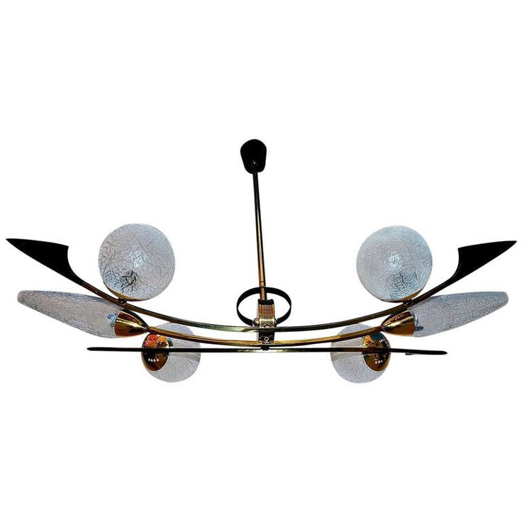 French Mid Century Chandelier   From a unique collection of antique and modern chandeliers and pendants at https://www.1stdibs.com/furniture/lighting/chandeliers-pendant-lights/