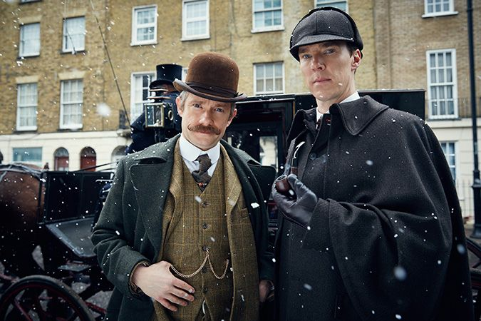 『SHERLOCK/シャーロック 忌まわしき花嫁』 ©2015Hartswood Films Ltd. AHartswoodFilms productionforBBCWales
