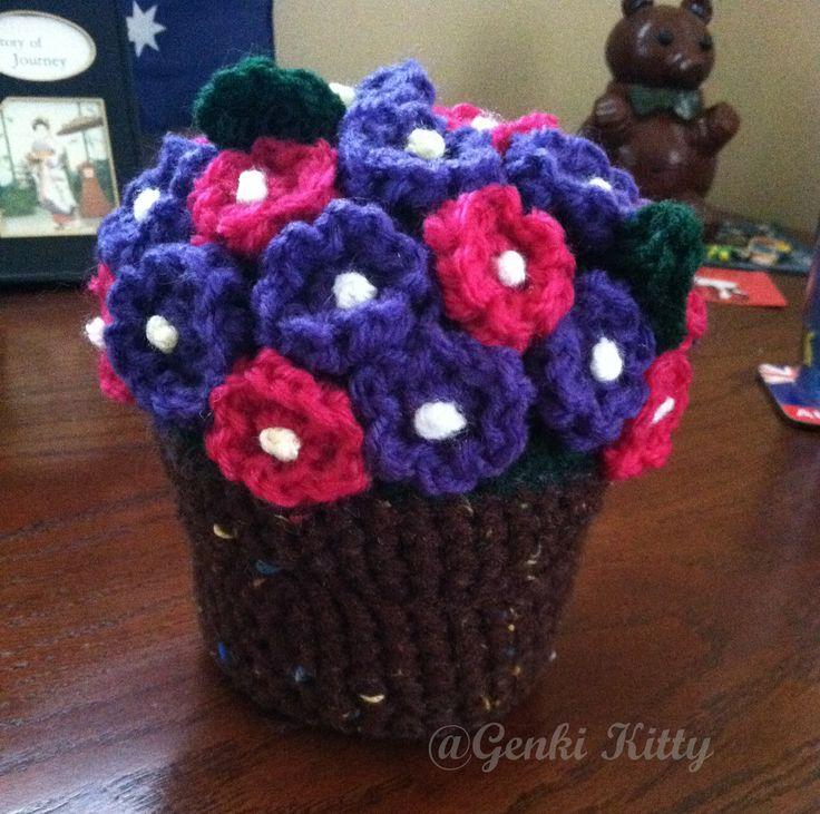 Flower pot crochet