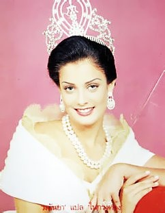 Miss Universe 1993 - Dayonara Torres - She's also the former Mrs. Marc Anthony but I don't think she wants to be reminded.