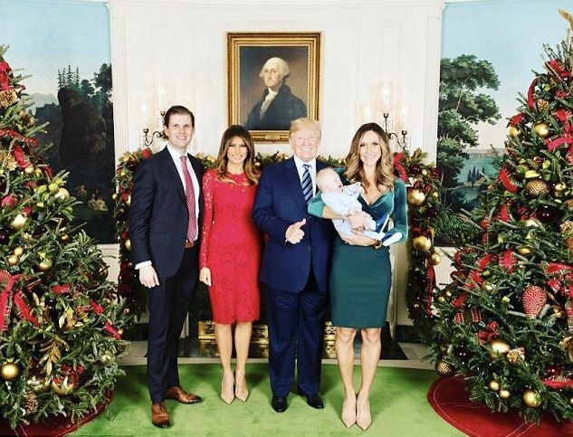 President & First Lady Melania Trump & Family