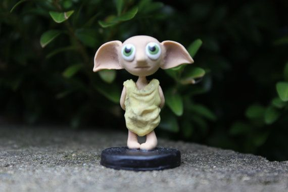 Cute Polymer Dobby by BeneathABridge on Etsy