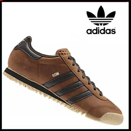 50626d551d8 Adidas Rom brown gold