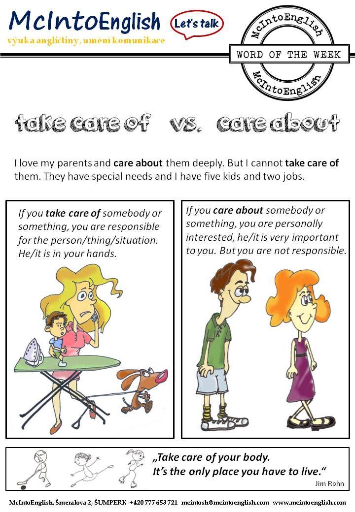 Word of the Week – CARE – McIntoEnglish