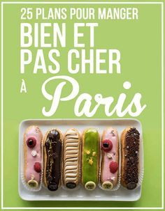 25 plans pour manger bien et pas cher à Paris