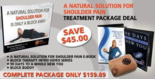 A Natural solution for shoulder pain