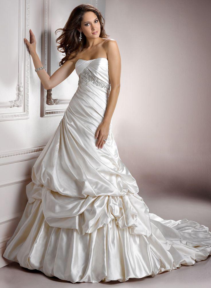 848 besten A Line Wedding Dresses Bilder auf Pinterest ...