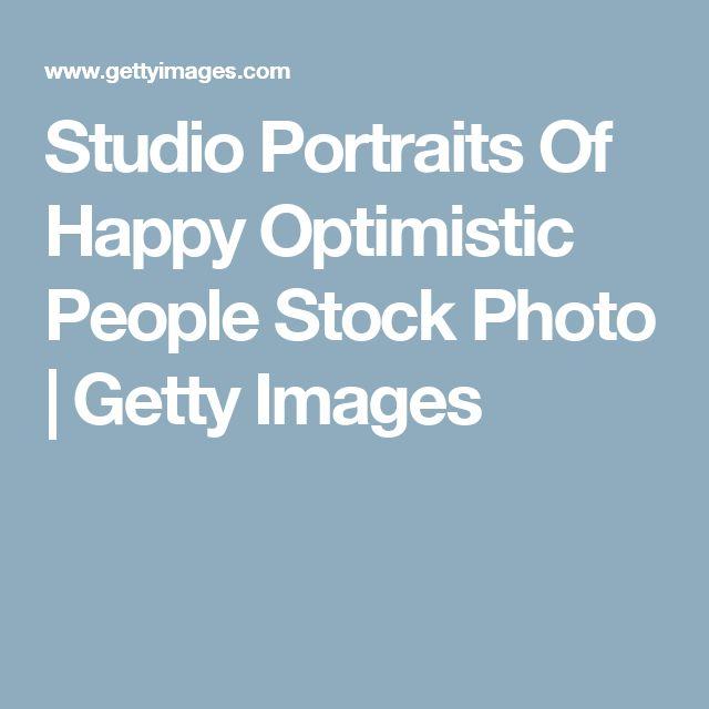 Studio Portraits Of Happy Optimistic People Stock Photo | Getty Images