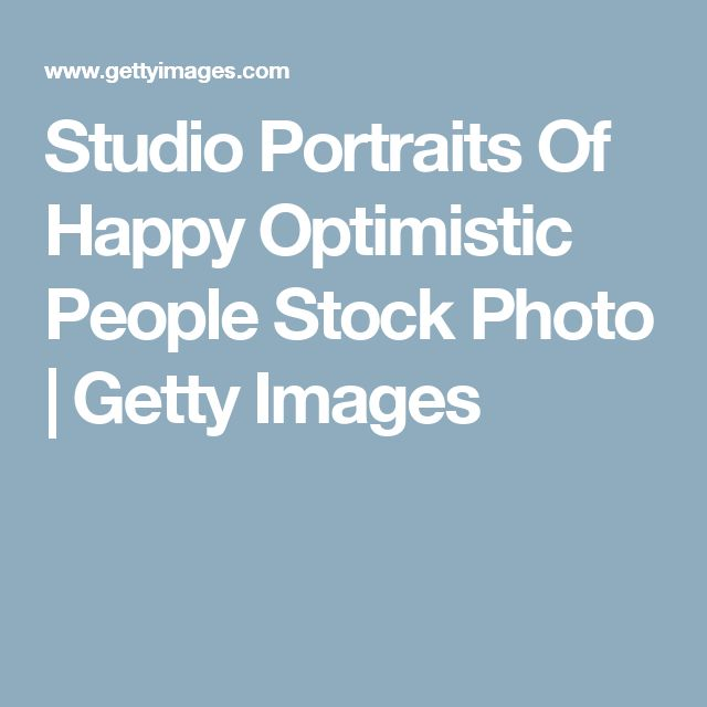 Studio Portraits Of Happy Optimistic People Stock Photo   Getty Images