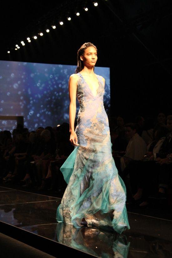 Alberta Ferretti fashion show s/s 2013