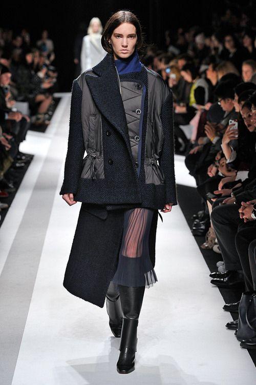 [No.13/37] sacai 2014~15秋冬コレクション | Fashionsnap.com