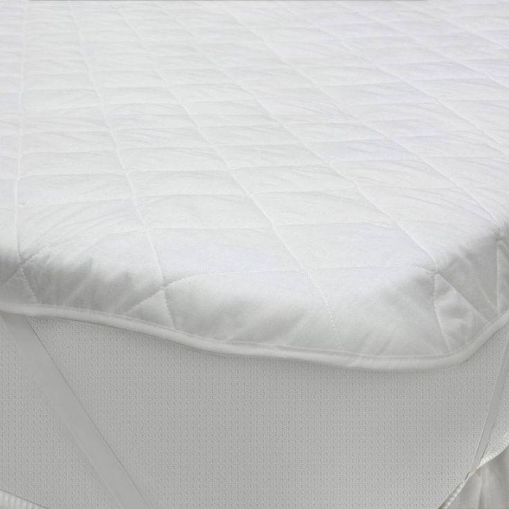 Protetor de Colchão Queen Size Liso Branco