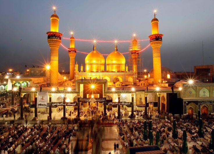 Maula Ali Shrine Wallpaper: KADHIMAIN SHRINE IMAM MUSA IBN JAFFAR AL KAZIM A.S AND
