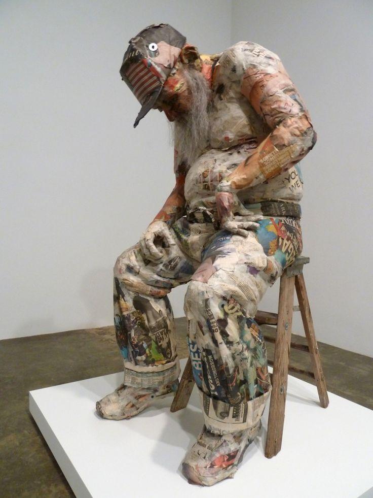 Will Kurtz (newspaper sculpture)
