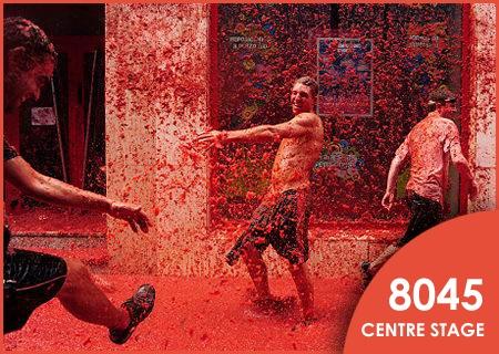 Tomatina, Spain  #ColourfulFestival