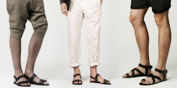 Inspiração: Sandálias Masculinas