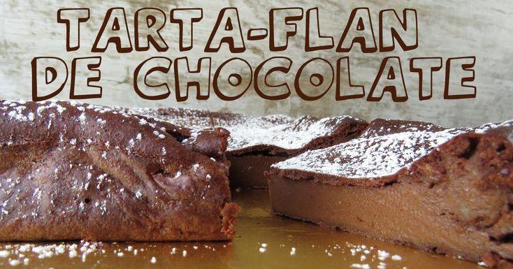 Una tarta con textura de flan y con un rico sabor a chocolate. Además, facilísima de preparar. Te dan la receta desde el blog BON APPETIT MAMA.