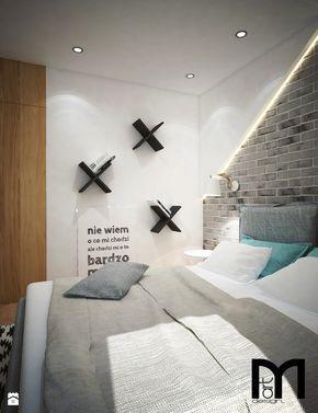 Sypialnia styl Nowoczesny - zdjęcie od Mart-Design Architektura Wnętrz - Sypialnia - Styl Nowoczesny - Mart-Design Architektura Wnętrz