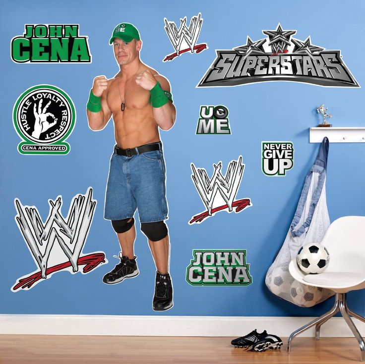 WWE Wrestling John Cena Wall Decal Sticker